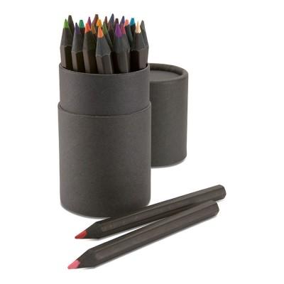 Pack 24 lápices de colores personalizados con el logotipo