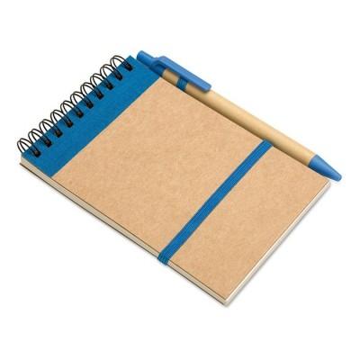 Libretas A6 con bolígrafo personalizadas