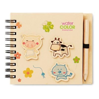 Cuaderno infantil como regalo de empresa para niños