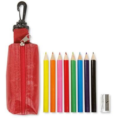 Estuche personalizado con 6 lápices