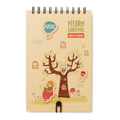 Cuaderno para niños personalizado con el logo de su empresa