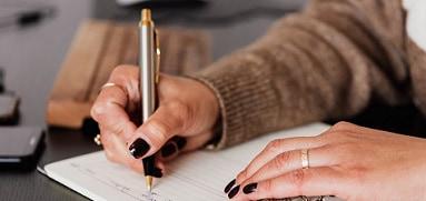Post bolígrafos de lujo