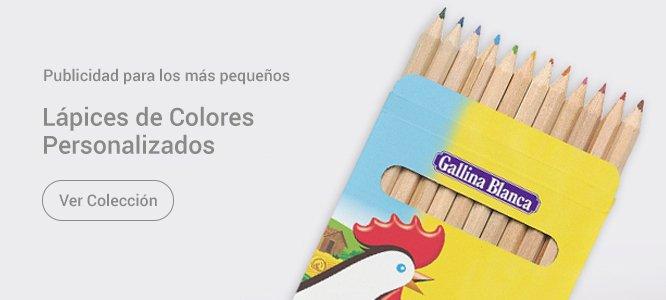 Lápices personalizados infantiles Gallina Blanca